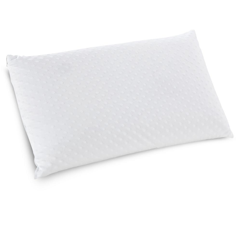 Sleep Options Caress QueenSize Plush Latex Bed Pillow