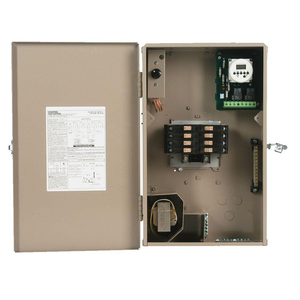 hight resolution of ch 125 amp 8 space 8 circuit outdoor pool panel