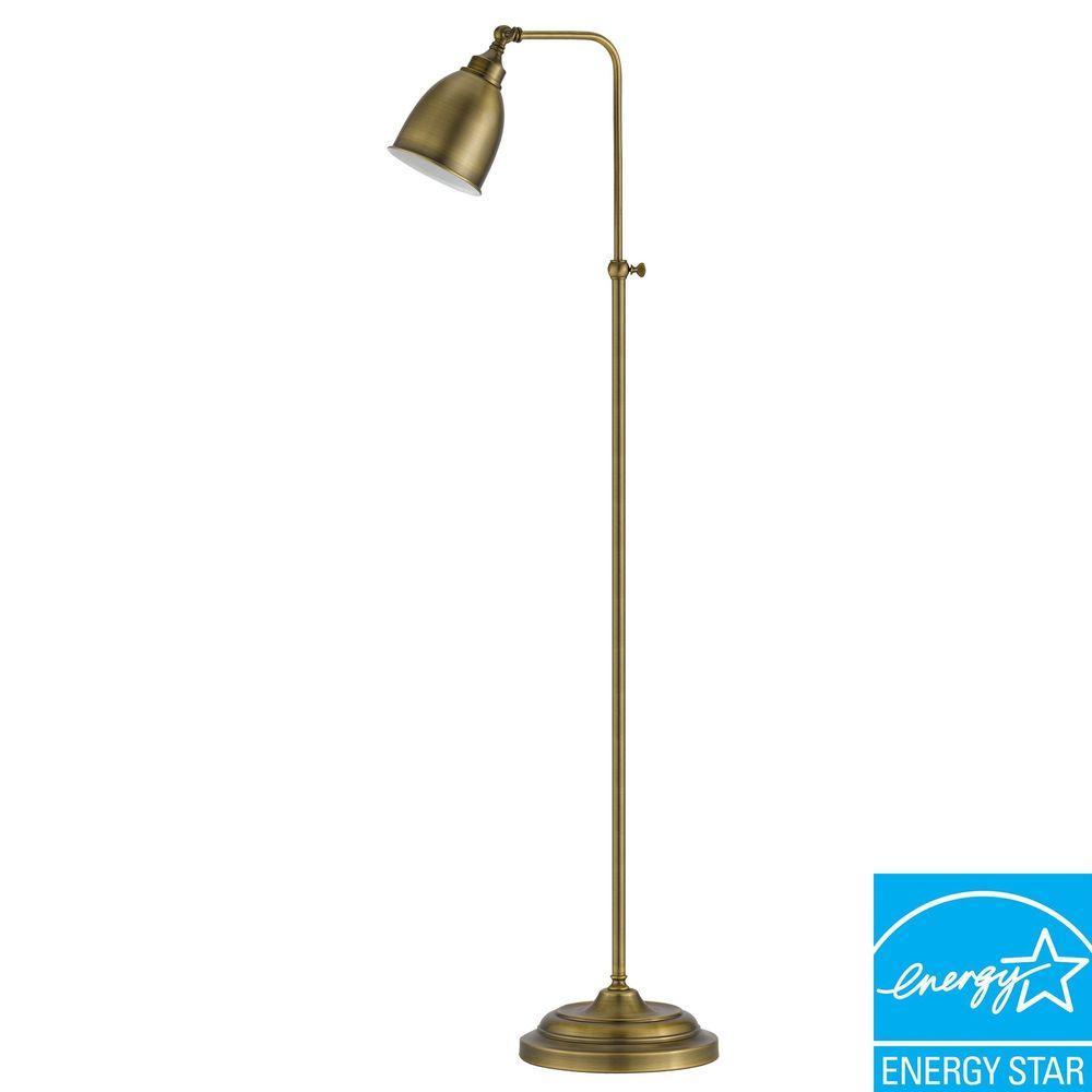 CAL Lighting 62 in. Antique Bronze Metal Adjustable
