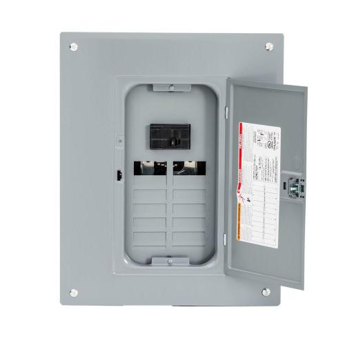 small resolution of square d homeline 100 amp 12 space 24 circuit indoor main breaker plug