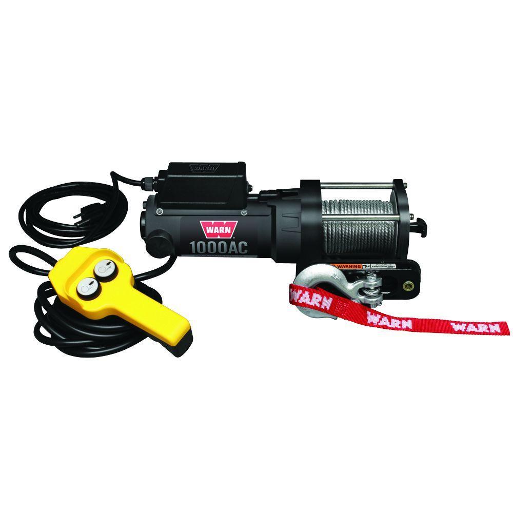 medium resolution of warn 1000 lbs 120 volt ac utility winch