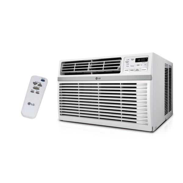 Lg Electronics 10 000 Btu 115-volt Window Air Conditioner With Remote And Energy Star-lw1016er