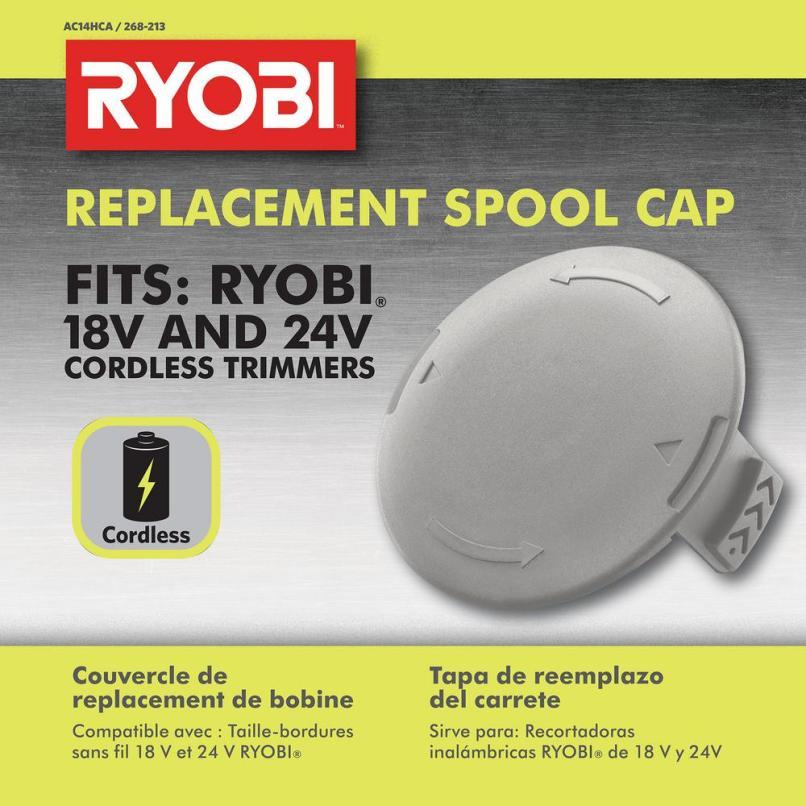 Ryobi One Spool Cap Ac14hca The Home