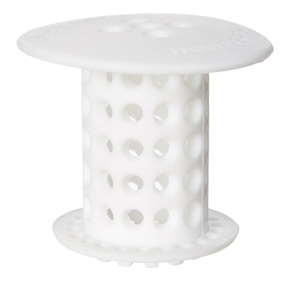 TubShroom 15 In 175 In Drain Protector Hair Catcher