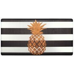 Kitchen Mats Rustic Cabinet Handles Cook N Comfort Gold Pineapple 20 In X 39 Mat