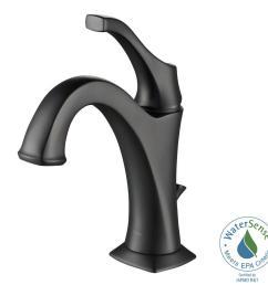 kraus arlo single hole single handle bathroom faucet in [ 1000 x 1000 Pixel ]