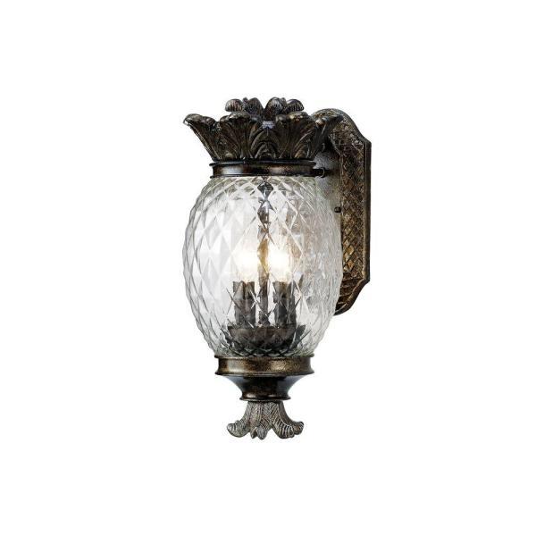 Monteaux Lighting Bronze Outdoor Pineapple Coach Light