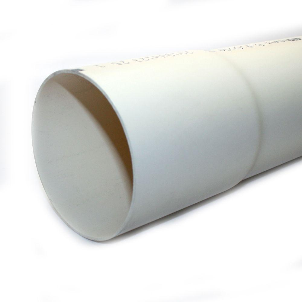 JM eagle 4 in. x 10 ft. PVC D2729 Sewer and Drain Pipe