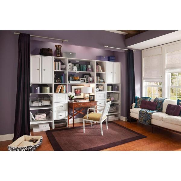 Closetmaid Selectives 25 In. White Custom Closet Organizer-7029 - Home Depot