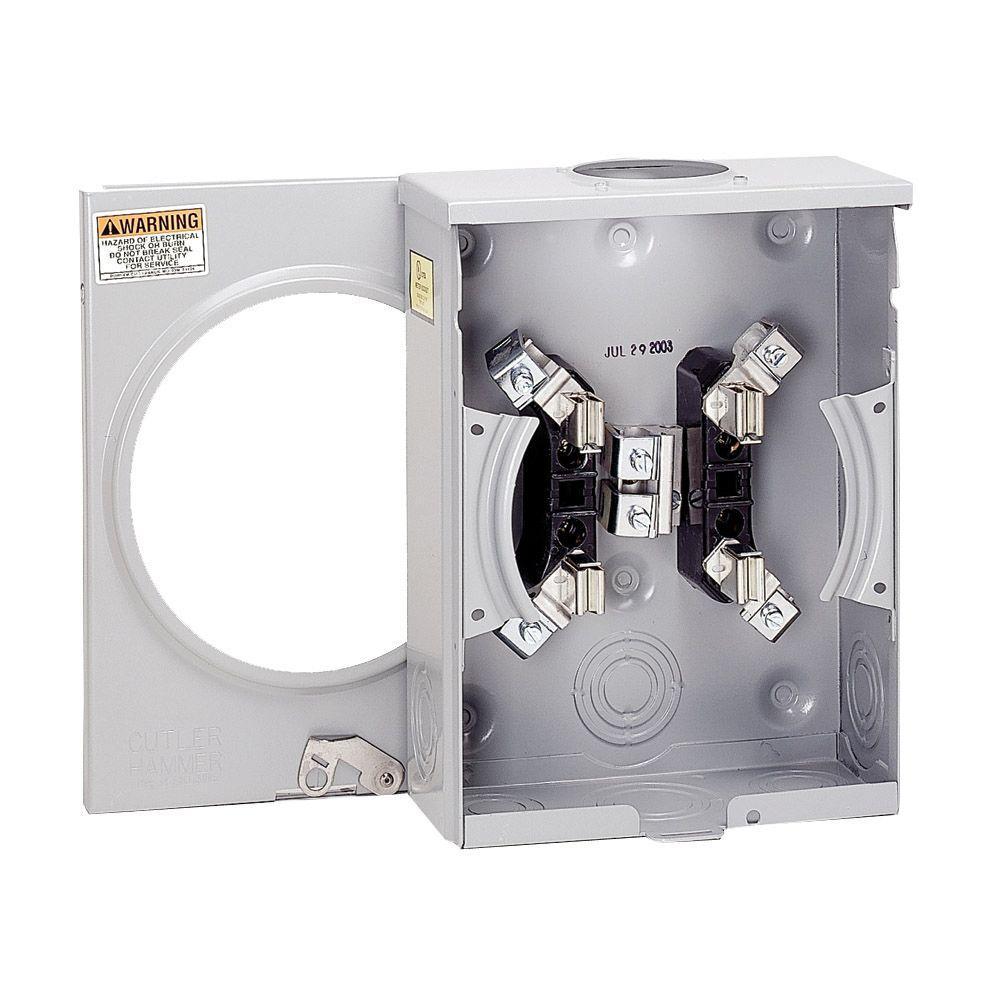 medium resolution of eaton 100 amp single meter socket