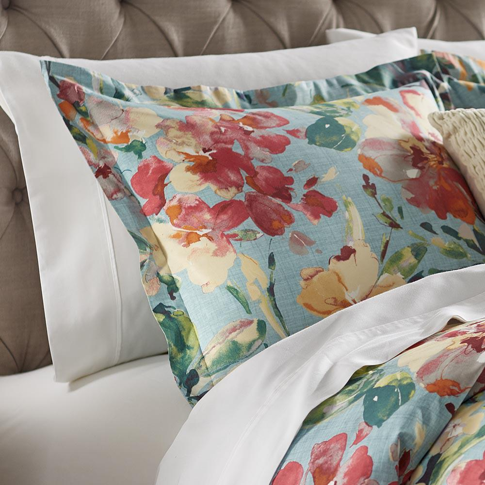 Home Decorators Collection Garden Bloom Blue and Multi