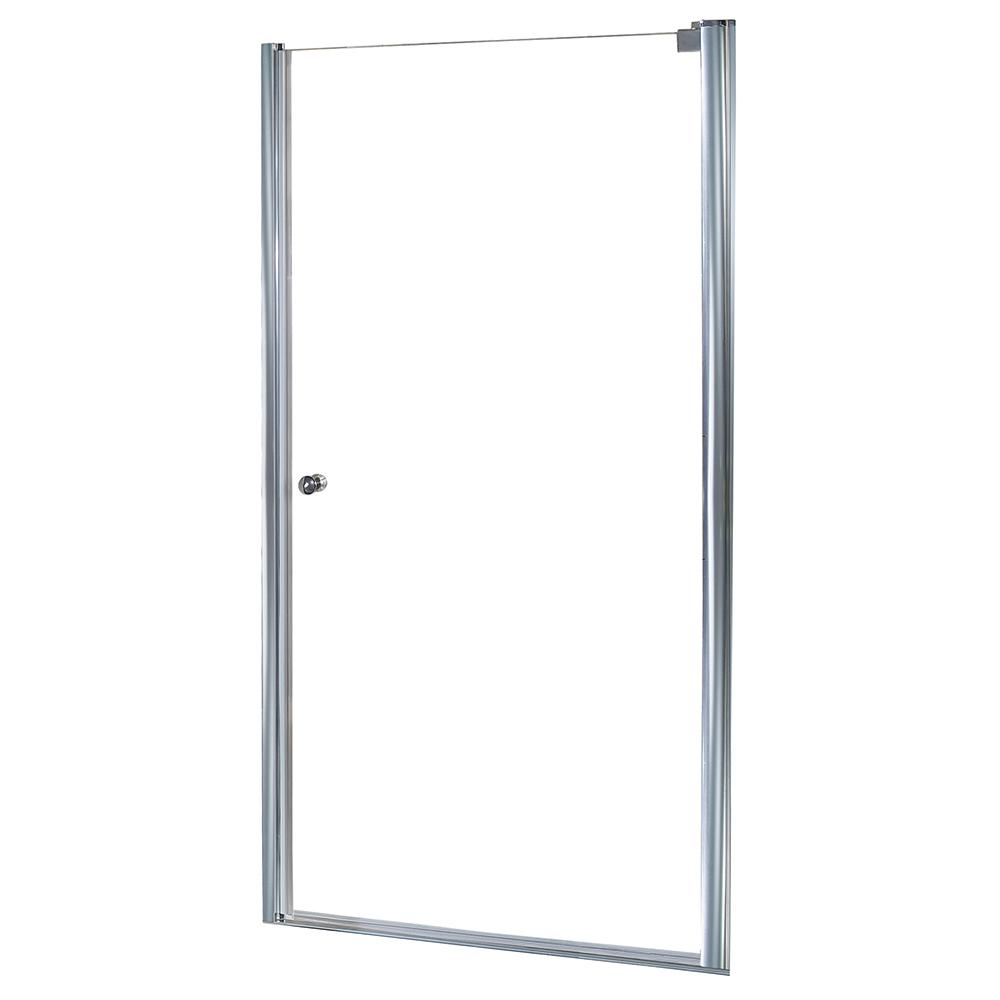Foremost Cove 34.5 in. x 72 in. Semi-Framed Pivot Shower