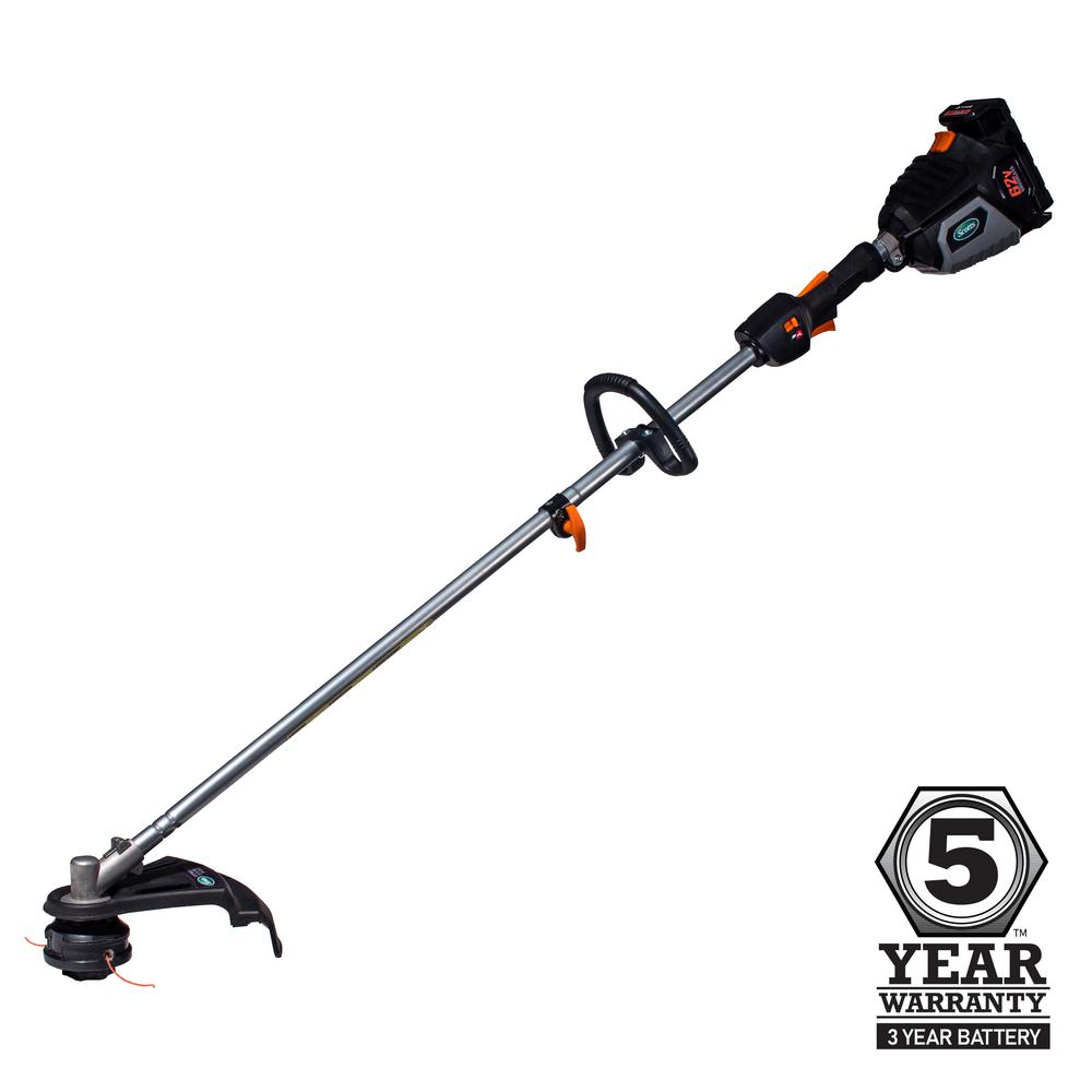 Scotts 15 in. 62-Volt Lithium-Ion Cordless String Trimmer