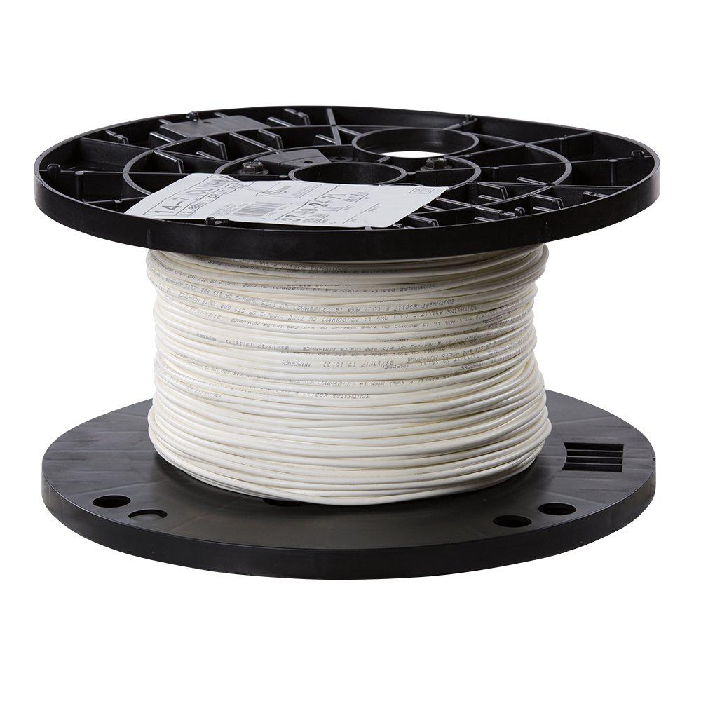 Southwire 500 Ft 14 White Stranded Cu Xhhw Wire