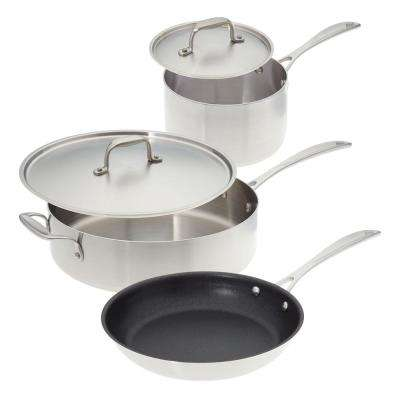 kitchen pot sets dining room paint colors american cookware the home depot make