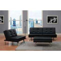 Ottoman Tables Living Room Sears Sectionals Ottomans Furniture The Home Depot Chelsea Black Accent