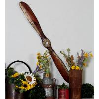 Litton Lane Vintage Airplane Propeller Wooden Wall Art ...