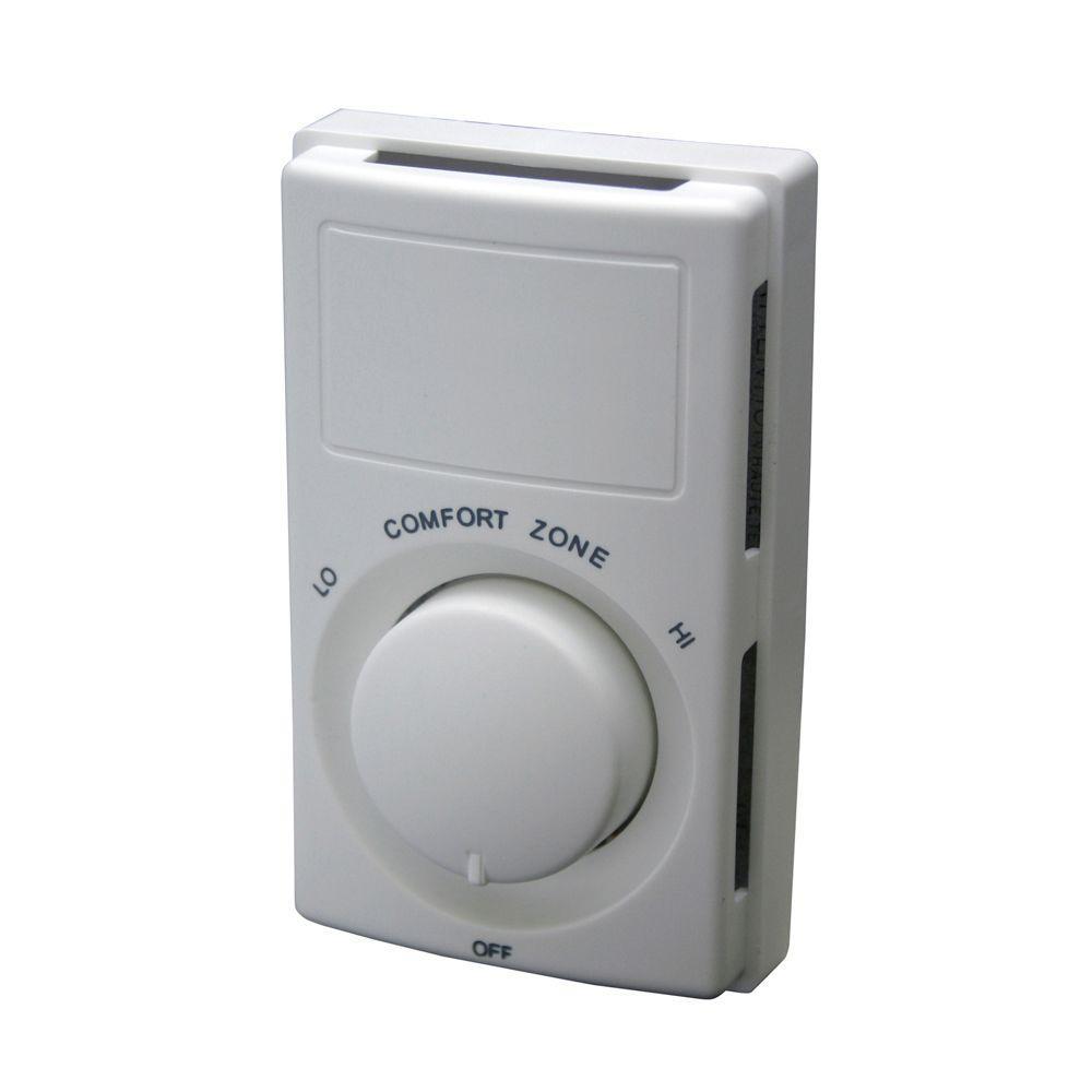 medium resolution of fahrenheat non programmable wall mount thermostat