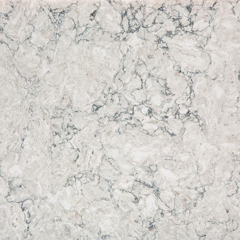 Silestone 2 in. x 4 in. Quartz Countertop Sample in Pietra