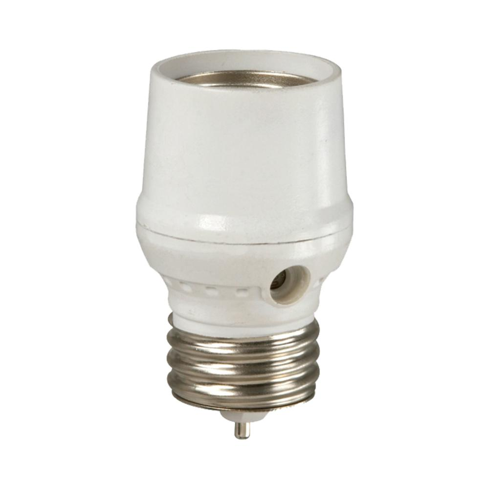 medium resolution of defiant cfl led screw in dusk to dawn light control white
