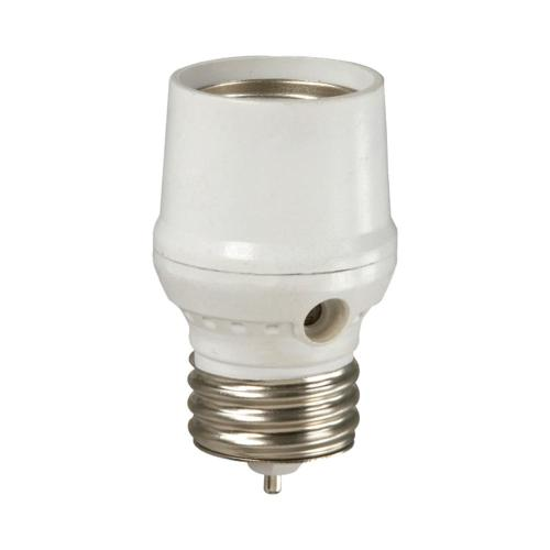 small resolution of defiant cfl led screw in dusk to dawn light control white