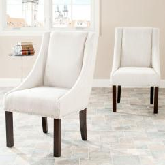 Safavieh Dining Chairs Is There A Hickory Chair Outlet Morris Beige Linen Set Of 2 Mcr4708a Set2