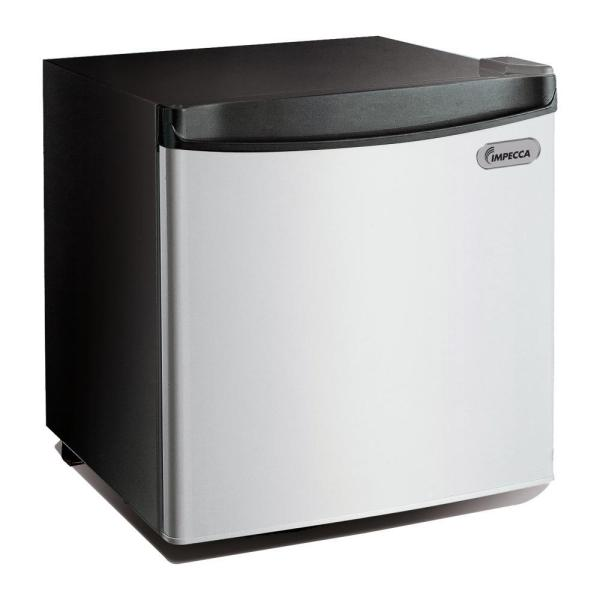 Impecca 1.7 Cu. Ft. Mini Fridge In Stainless Front-rc-1172sl - Home Depot