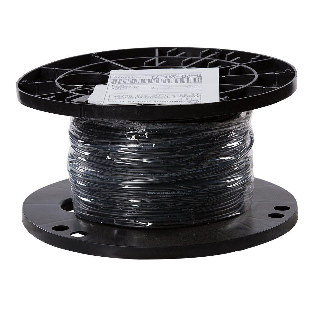 Southwire 500 Ft 14 Black Stranded Cu Xhhw Wire