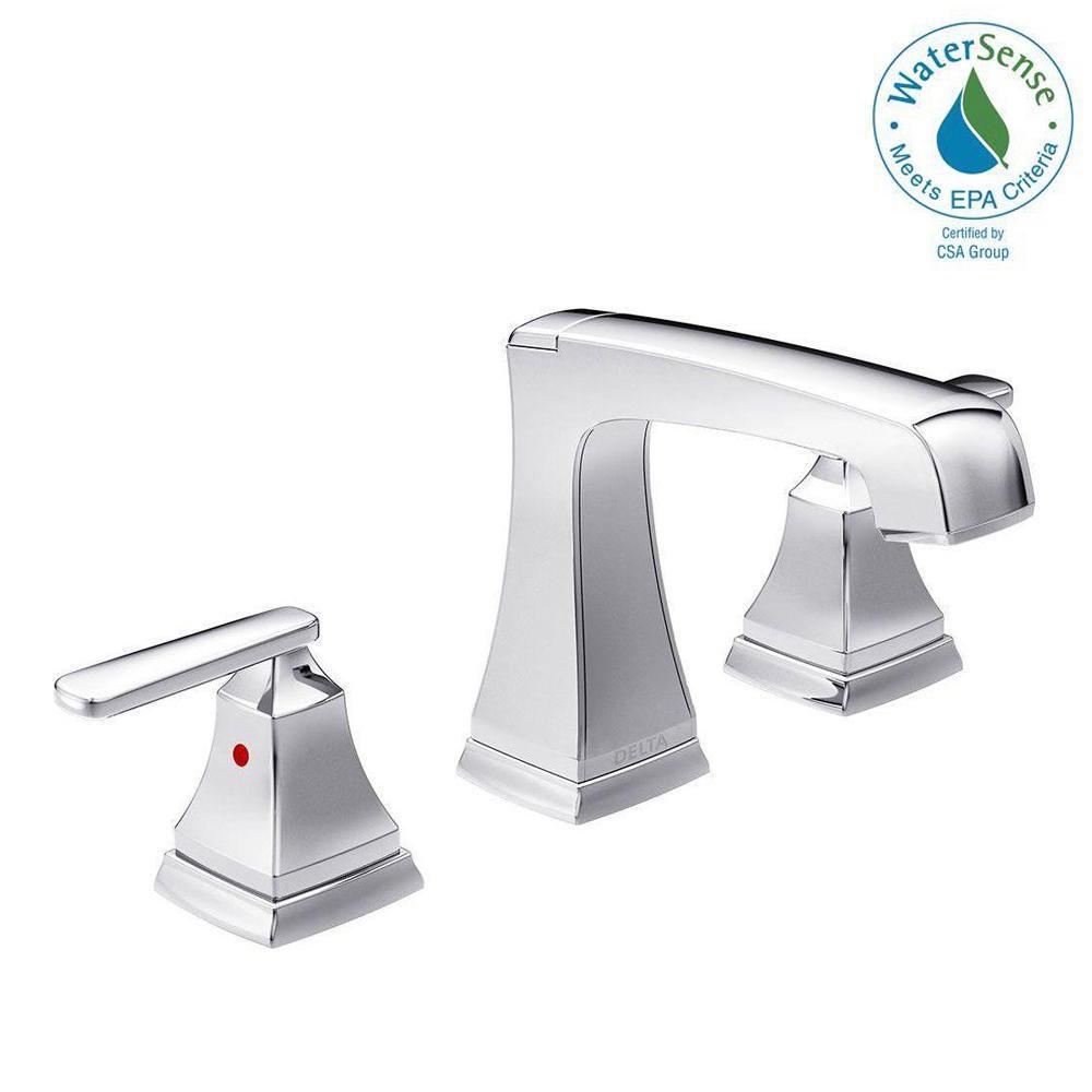 Delta Ashlyn 8 in Widespread 2Handle Bathroom Faucet