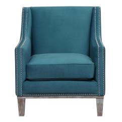 Teal Accent Chair Hanging Stand Canada Aster Uag816100dwbca The Home Depot