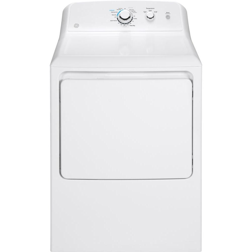 medium resolution of 240 volt white electric vented dryer