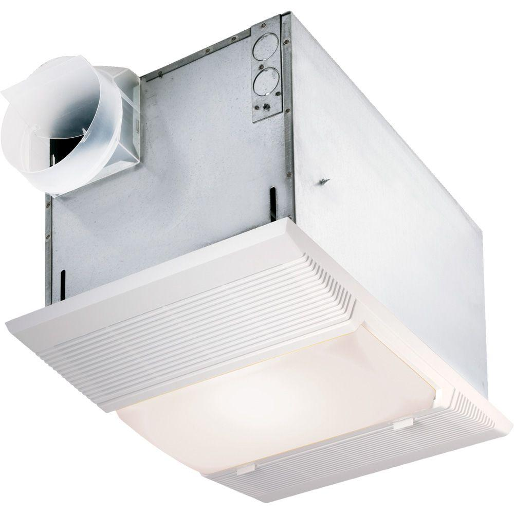 nutone 70 cfm ceiling bathroom exhaust fan with night light and
