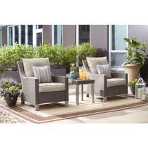 Langkawi Eucalyptus 3-piece Patio Seating Set