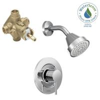 MOEN Align Single-Handle 1-Spray Shower Faucet Trim Kit ...
