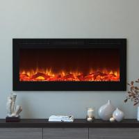 Moda Flame Cynergy 50 in. Log Electric Recessed Built-In ...
