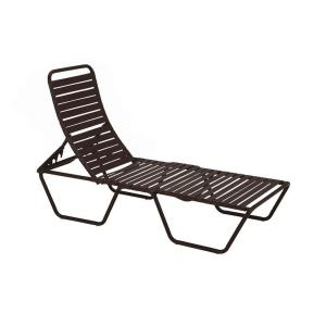 Tradewinds Milan Java Commercial Patio Chaise Lounge-HD