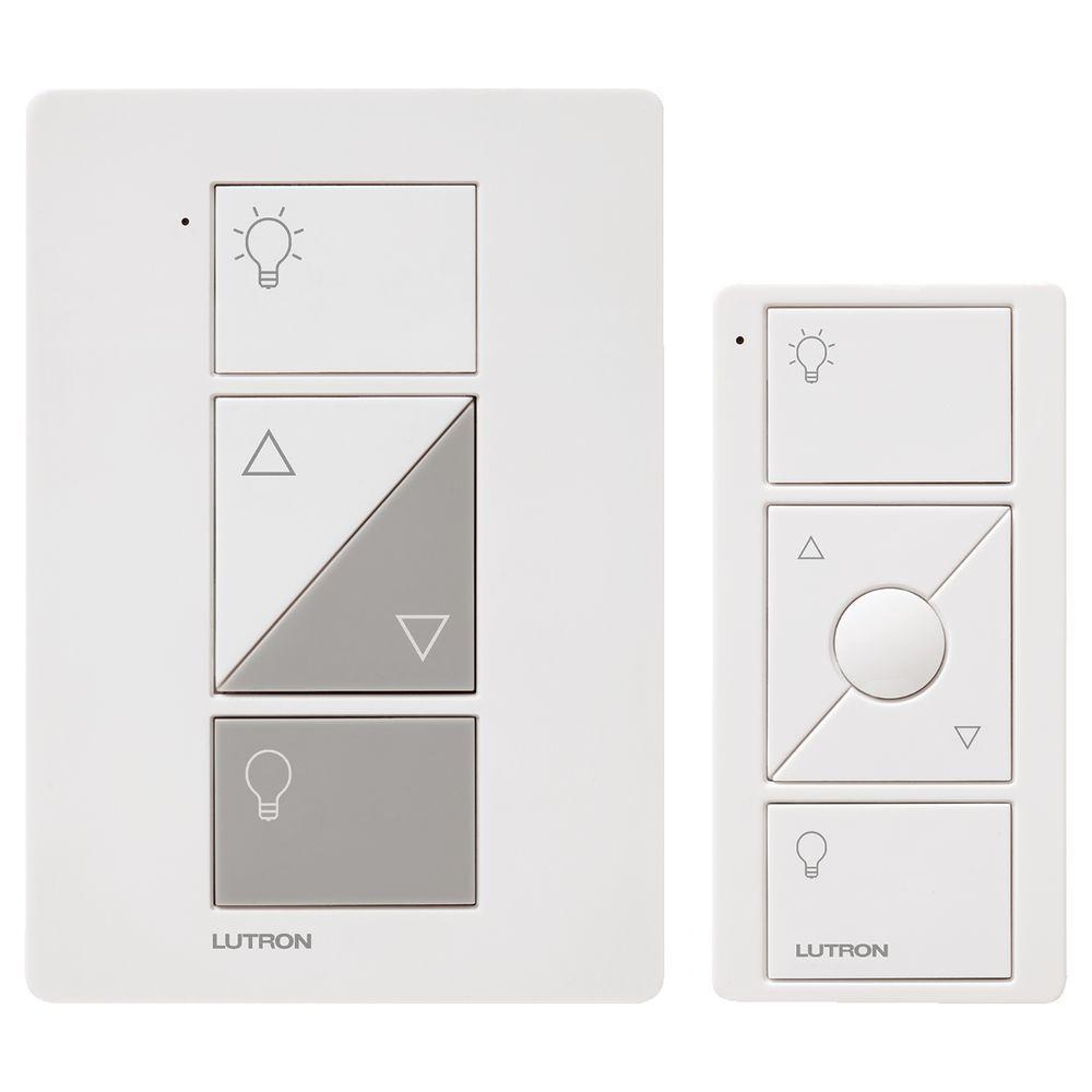 hight resolution of caseta wireless smart lighting lamp dimmer and remote kit white