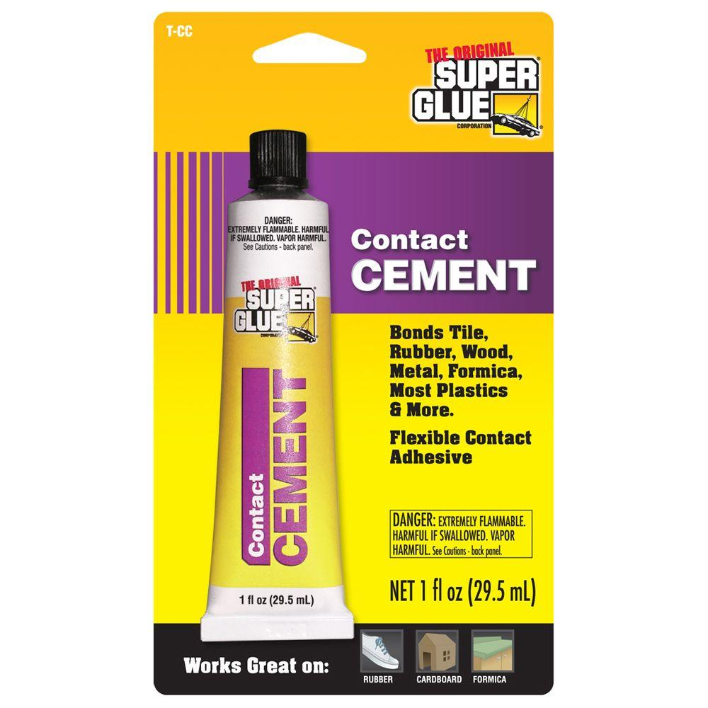 How To Apply Contact Cement Glue