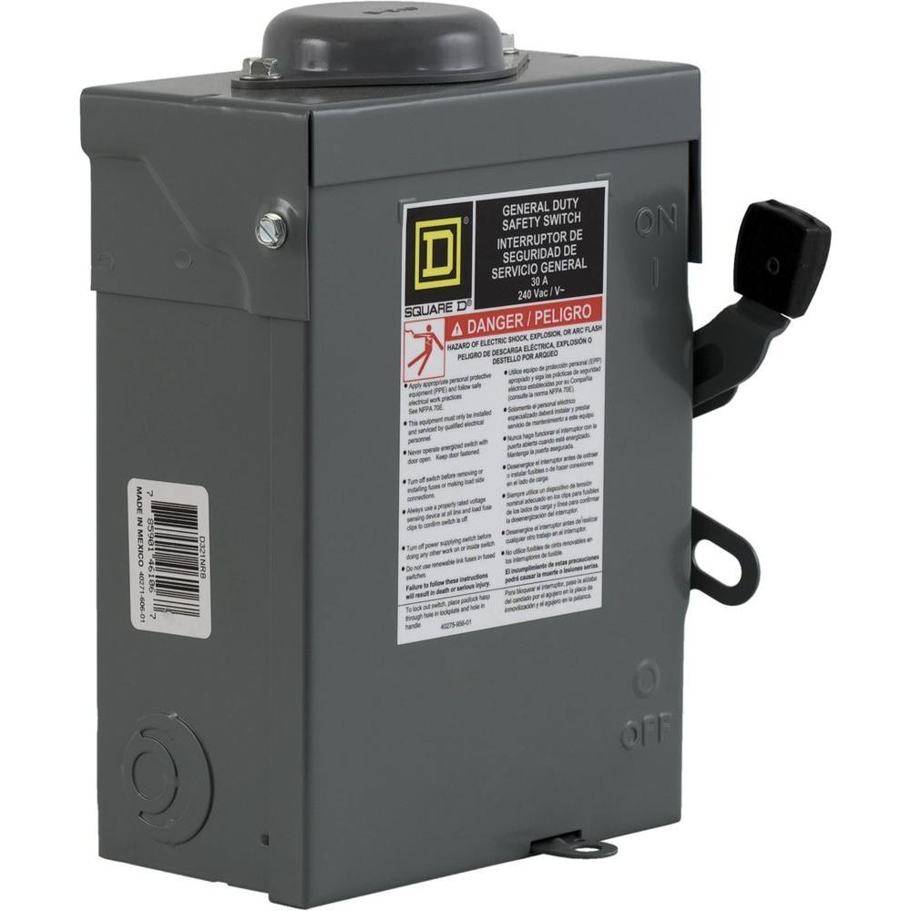 Wiring Diagram 30 Amp Disconnect Box