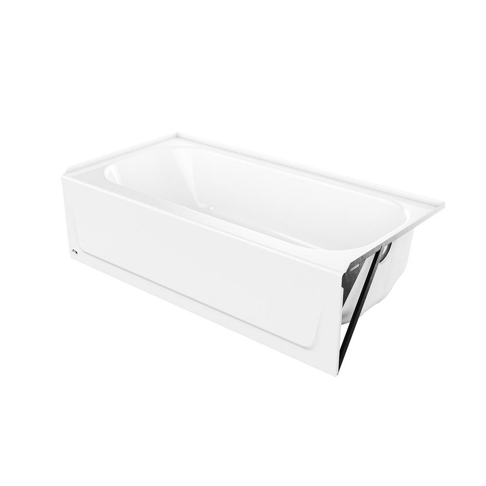 Bootz Industries Mauicast 60 in. Right Drain Rectangular