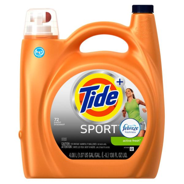 Tide Sport Laundry Detergent Liquid
