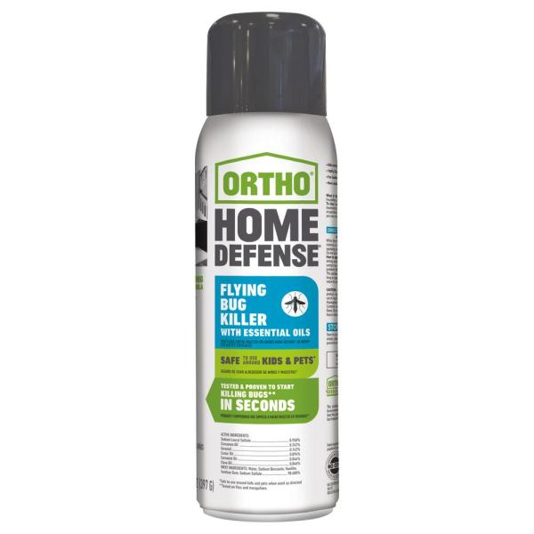 Ortho 14 Oz. Home Defense Flying Bug Killer With Essential Oils-020221205 - Depot