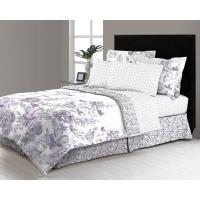 Freida Floral 8-Piece Queen Bed in a Bag Comforter Set ...