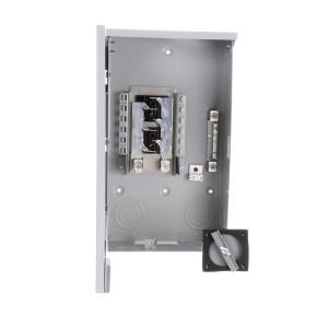 Siemens 200 Amp 4Space 8Circuit Main Lug Outdoor Trailer