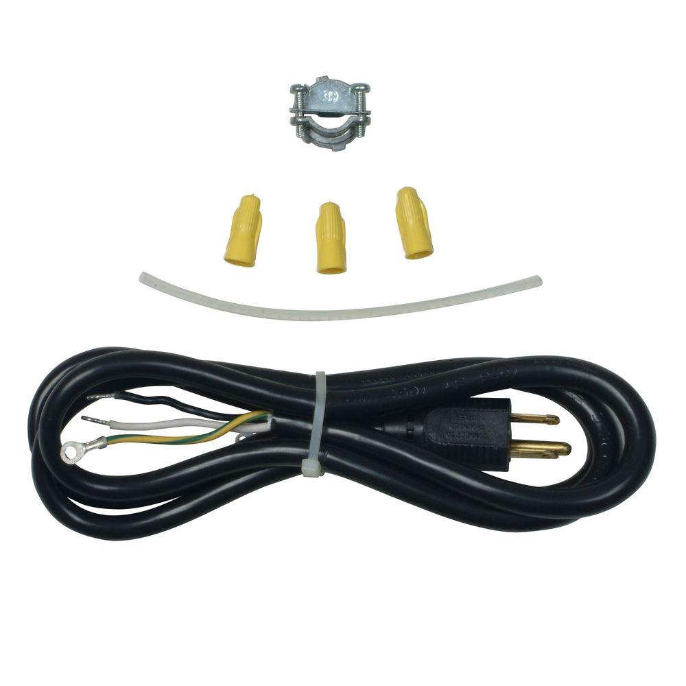 4 wire dryer plug diagram crossover cable wiring t568b whirlpool 3 prong dishwasher power cord kit 4317824 the home depot