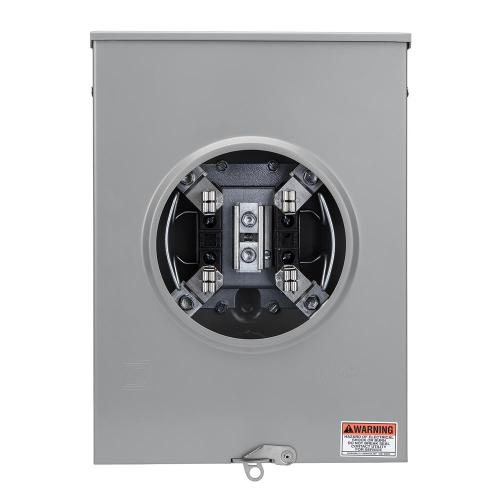small resolution of square d 200 amp ringless overhead underground meter socket 200 amp meter socket outside wiring diagram