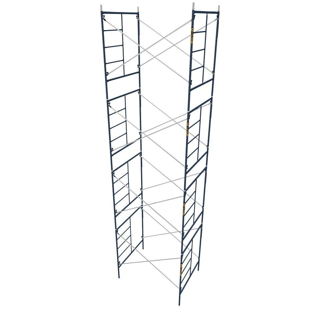 MetalTech Saferstack 5 ft. x 7 ft. x 6 ft. Mason Scaffold