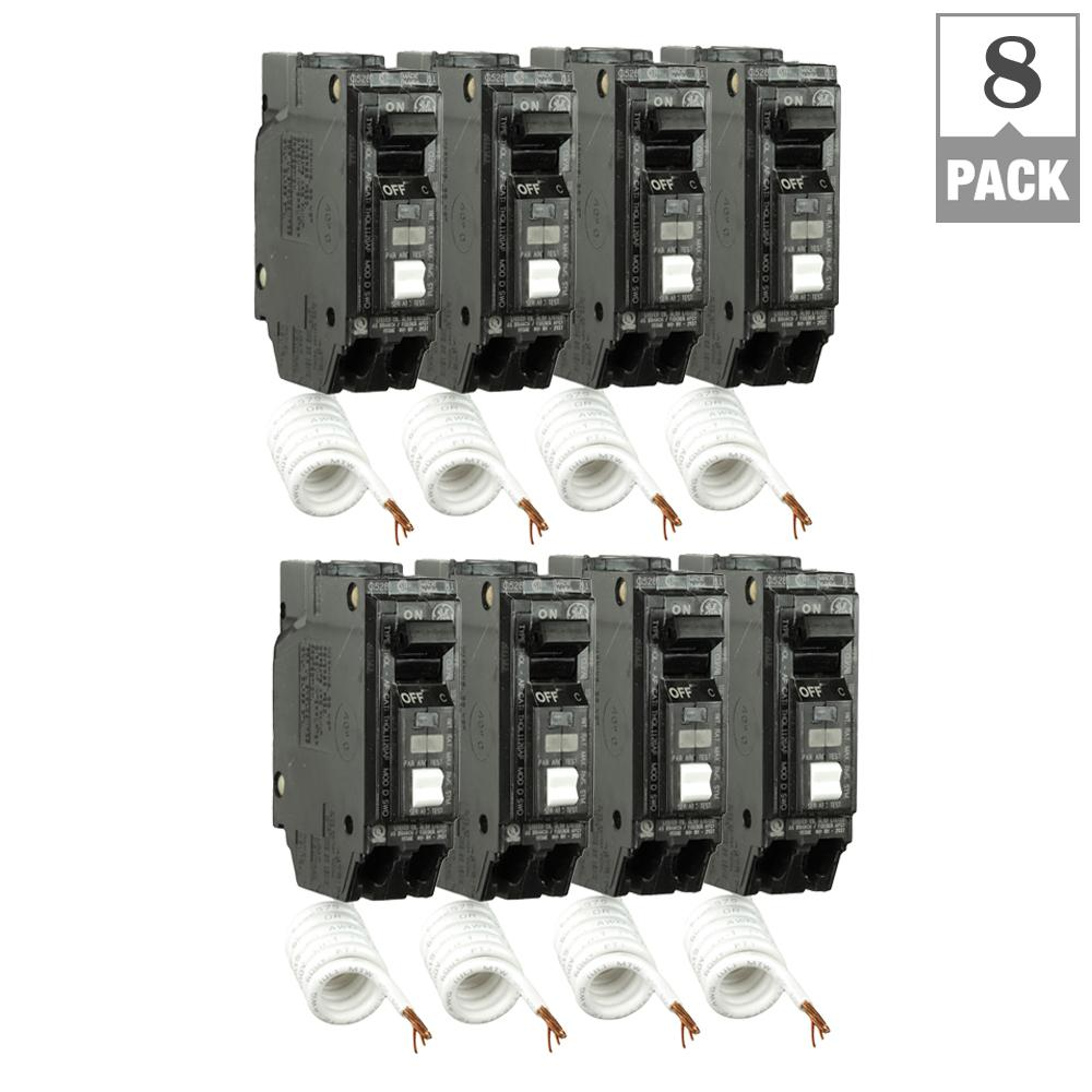 Line Thql 15amp Combination Arc Fault Circuit Breaker At Lowescom
