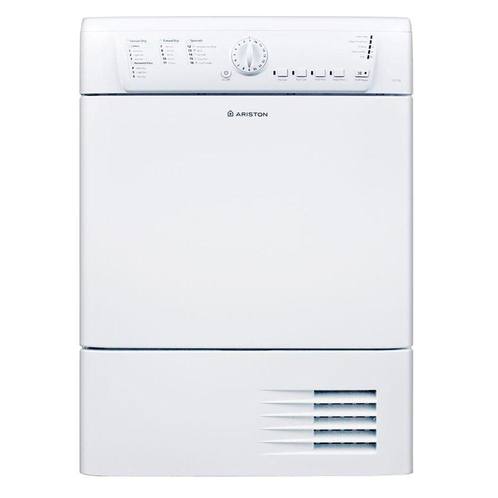 hight resolution of electric ventless dryer in white