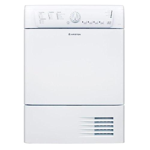 small resolution of electric ventless dryer in white